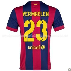 Camiseta nueva Barcelona Vermaelen Primera 2014/2015