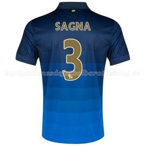 Camiseta de Manchester City 2014/2015 Segunda Sagna