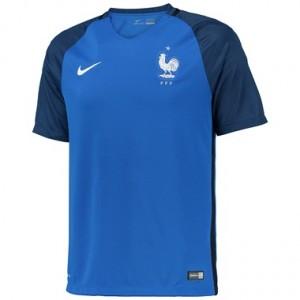 Camiseta del Francia Primera Equipacion 2016