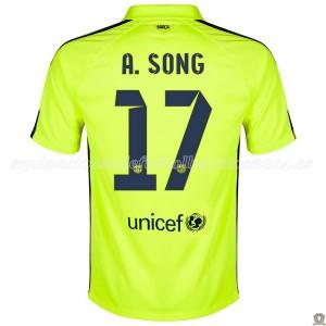 Camiseta Barcelona A.Song Tercera 2014/2015