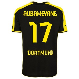 Camiseta del Aubameyang Borussia Dortmund Segunda 2013/2014