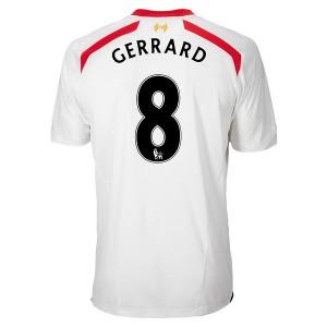 Camiseta nueva Inglaterra de la Seleccion Gerrard Segunda 2013/2014