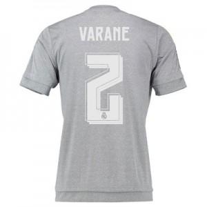 Camiseta nueva del Real Madrid 2015/2016 Equipacion Numero 02 VARA Segunda