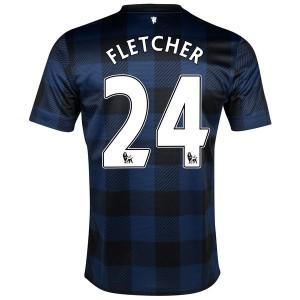 Camiseta Manchester United Fletcher Segunda 2013/2014