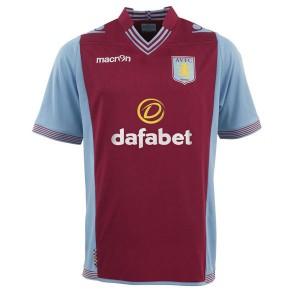 Camiseta nueva del Aston Villa 2013/2014 Equipacion Primera