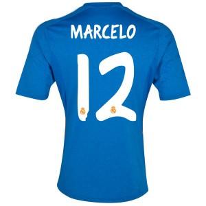 Camiseta de Real Madrid 2013/2014 Segunda Marcelo Equipacion