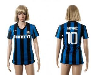 Camiseta nueva Inter Milan Mujer 10 2015/2016