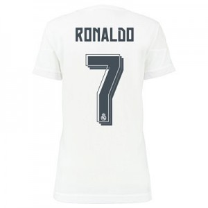 Camiseta Real Madrid RONALDO Primera Equipacion 2015/2016 Mujer