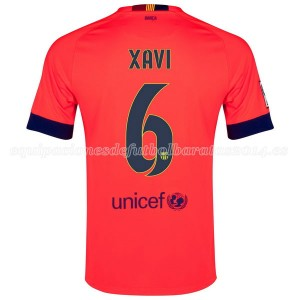Camiseta nueva del Barcelona 2014/2015 Xavi Segunda