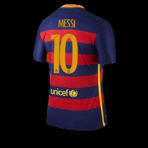 Camiseta nueva del Barcelona 2015/2016 Equipacion Numero 10 MESSI Primera
