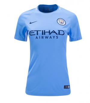 Camiseta nueva del Manchester City 2017/2018 Equipacion Mujer Primera