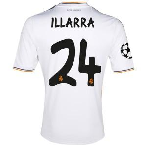 Camiseta de Real Madrid 2013/2014 Primera Illarra Equipacion