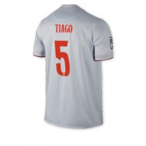 Camiseta del TIAGO Atletico Madrid Segunda Equipacion 2014/2015