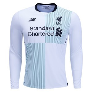 Camiseta nueva del Liverpool 2017/2018 Long Sleeve Away