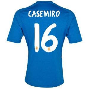 Camiseta nueva del Real Madrid 2013/2014 Equipacion Casemiro Segunda