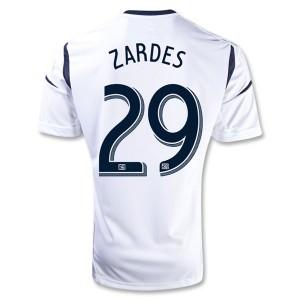 Camiseta nueva Los Angeles Galaxy Zardes Primera 2013/2014