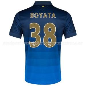 Camiseta nueva Manchester City Boyata Segunda 2014/2015