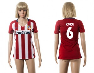 Camiseta Atletico Madrid 6 2015/2016 Mujer