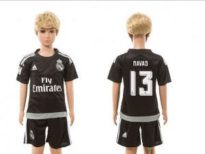 Camiseta nueva del Real Madrid 2015/2016 goalkeeper 13 Niños