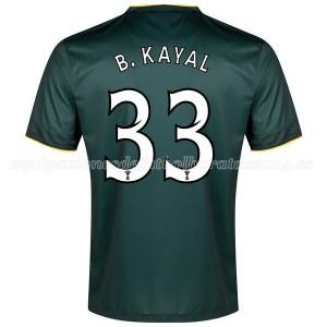 Camiseta nueva del Celtic 2014/2015 Equipacion B.Kayal Segunda