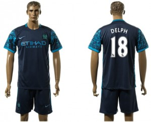 Camiseta Manchester City 18# Away