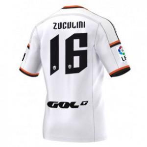 Camiseta nueva Valencia Bruno Zuculini Equipacion Primera 2014/2015
