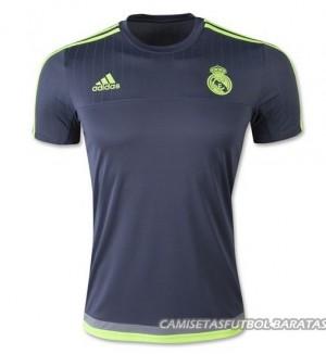 Camiseta Real Madrid Negro Entrenamiento 2015/2016
