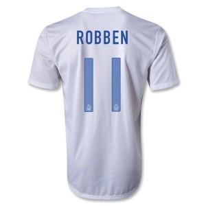 Camiseta de Holanda 2013/2014 Segunda Robben
