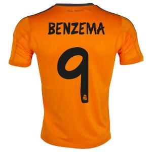 Camiseta Real Madrid Benzema Tercera Equipacion 2013/2014