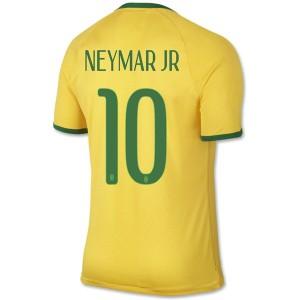 Camiseta del Neymar JR Brasil de la Seleccion Primera WC2014