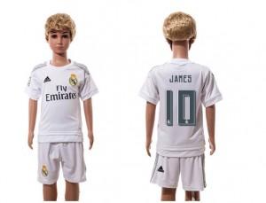 Camiseta nueva del Real Madrid 2015/2016 10 Niños Home