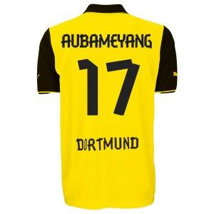 Camiseta de Borussia Dortmund 2013/2014 Primera Aubameyang