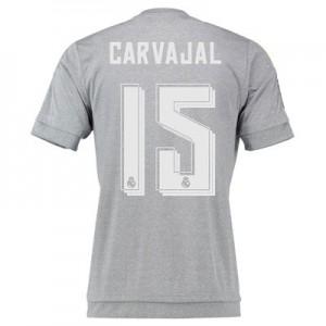 Camiseta del Numero 15 CARV Real Madrid Segunda Equipacion 2015/2016