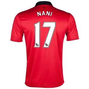 Camiseta del Nani Manchester United Primera 2013/2014