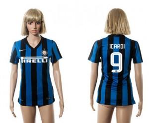 Mujer Camiseta del 9 Inter Milan 2015/2016