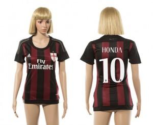 Camiseta nueva del AC Milan 2015/2016 10 Mujer