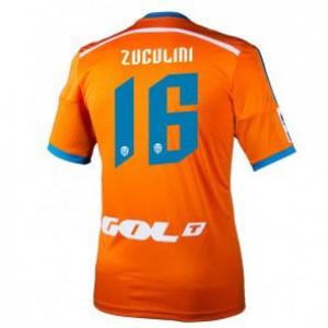 Camiseta de Valencia 2014/2015 Segunda Bruno Zuculini Equipacion