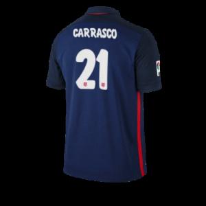 Camiseta del CARRASCO Atletico Madrid Segunda Equipacion 2015/2016