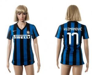Mujer Camiseta del 17 Inter Milan 2015/2016