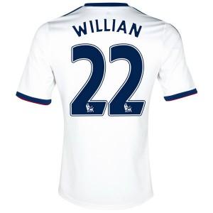 Camiseta nueva Chelsea Willian Equipacion Segunda 2013/2014