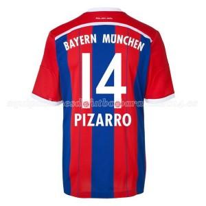 Camiseta del Pizarro Bayern Munich Primera Equipacion 2014/2015
