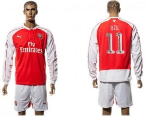Camiseta nueva Arsenal UEFA Champions League 11 Long Sleeve Home