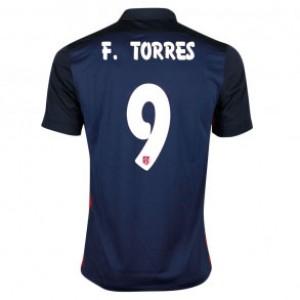 Camiseta Atletico Madrid FERNANDO TORRES Segunda Equipacion 2015