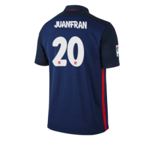Camiseta de Atletico Madrid 2015/2016 Segunda JUANFRAN Equipacion