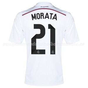Camiseta nueva del Real Madrid 2014/2015 Equipacion Morata Primera