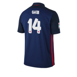 Camiseta del GABI Atletico Madrid Segunda Equipacion 2015/2016