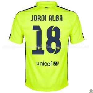 Camiseta de Barcelona 2014/2015 Tercera Jordi Alba
