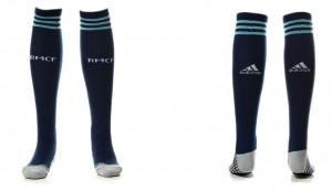 Thai version of the socks Real Madrid Away 15-16