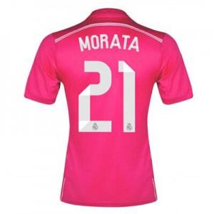 Camiseta nueva del Real Madrid 2014/2015 Equipacion Morata Segunda