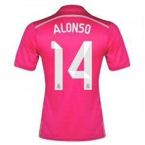 Camiseta nueva Real Madrid Alonso Equipacion Segunda 2014/2015